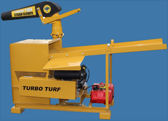 Turbo Turf Straw Blower with Honda Engine